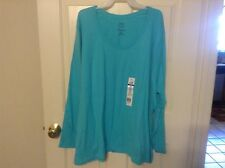 New Just My Size long sleeve cotton scoop neck tees in variety of colors sizes
