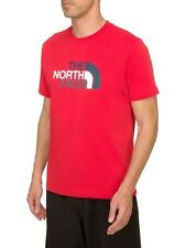 THE NORTH FACE Easy S/S T-Shirt Männer Shirt  tree frog green oder salsa red M-X