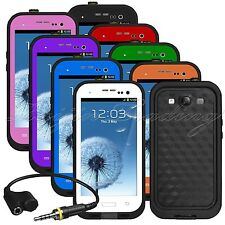 Shockproof Waterproof Dirt Snow Proof Cover Case for Samsung Galaxy S3 SⅢ I9300