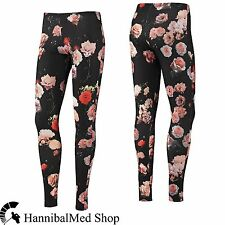 Adidas Originals Rita Ora Legging Roses F78410 Flower Print Women Workout Pants