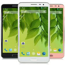 """5.5"""" Quad Core MT6582 Android Phone Unlocked GSM WCDMA GPS Smartphone Skype Call"""