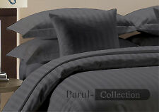 1200TC Brand New Spical Grey Striped 100% Egytion Cotton Bedding Item for US