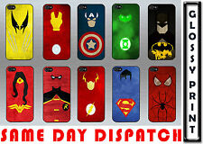 MARVEL SUPERHERO FAMOUS CARTOON QUIRKY IPHONE 5/5s/SE HARD CASE COVER