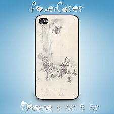 Cute Vintage Winnie The Pooh Concept Art Case Cover for iPhone & Samsung Galaxy