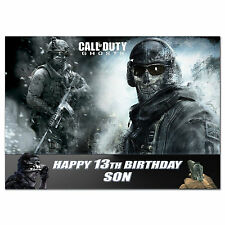 192 Call of duty ghosts Dad Son Grandson Brother Nephew 10th 11th 12th 13th 14th