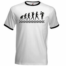 Evolution Of Ska T Shirt  The Specials Madness 2Tone Ska Dammers Suggs Two Tone