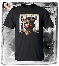 new KENDRICK LAMAR *King Of New York* Mens Black Rap Hip Hop Tees RNB S-3XL