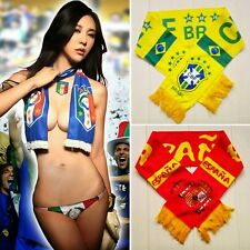 Brazilian World Cup National Team Souvenirs Fans Scarf Football Lots Of Country