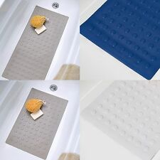 SOFT Rubber Safety Baby Bath  Tub Mat - 3 Colors & 2 Sizes: Small & Large