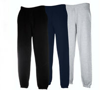 Mens Fruit Of The Loom Elasticated Jogging Sweat Pants- 3 Colours