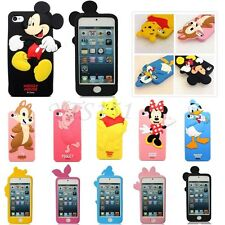 Cute 3D Disney Cartoon Animal Silicone Soft Case Cover For Apple iPhone 4S 5 5S