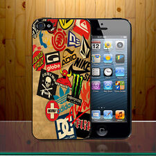 Vans Adio Quiksilver Toymachine Logo Shoes Swag Brands Hard Phone Case Cover
