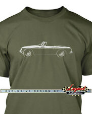 MG MGB Convertible T-Shirt- Multiple colors - All Sizes