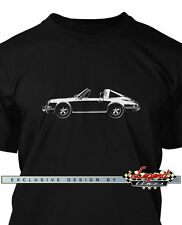 Porsche 911 Targa 1970 Men T-Shirt - Multiple Colors and Sizes