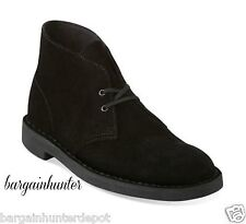 NEW CLARKS BUSHACRE 2 BOOT BLACK SUEDE MEN 82288