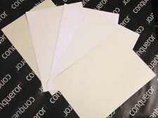 CONQUEROR 300GSM A4  CARD CHOICE OF COLOURS / DIY WEDDING STATIONERY / FREE P+P
