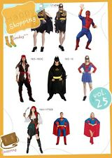 Party Fancy Dress Costume SUPERMAN BATMAN BATGIRL SUPERGIRL SPIDERGIRL COS1000