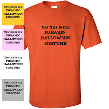 Yes This is My Costume Halloween GOTHIC FUNNY Mens T-Shirt