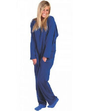 Forever Lazy Soft Fleece Lightweight Onesie Adult Lounge Wear Blue, Pink, Grey