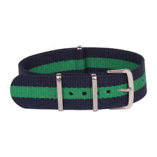 Army Navy Green Watchband Nylon Watch Strap Wristwatch Bands 18mm 20mm 22mm 24mm