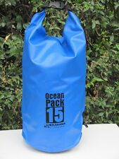 Dry Bag Ocean Pack Karana 15L litre   RUCKSACK WATER PROOF TRAVAL BAG