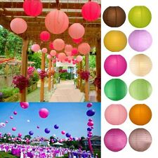 New Chines Sphere Paper Lanterns Light Lamp Wedding Party Decoration Decor 6~18""