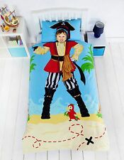 "Kidz ""Ahoy Matey"" Pirate Duvet Set Single"