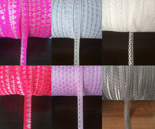 Ribbons! 10 -300 yards of lace ribbon craft ribbon embroidery net multicolor