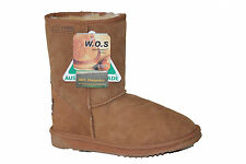 Australian Made Genuine Sheepskin Classic Short UGG Boots Chestnut Colour