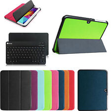 "Slim Shell Case w Bluetooth Keyboard Cover for Samsung Galaxy Tab 4 10.1"" Tablet"