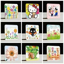 Switch cover Wall Stickers Light Switch Decor Decals Art Mural Baby Nursery Room