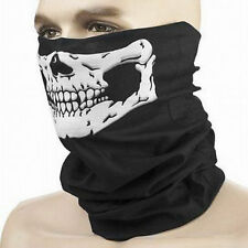 UNISEX SKULL Men Women BANDANA MASK SCARF WARMER MOTORCYCLE BIKER CYCLING SCARVE