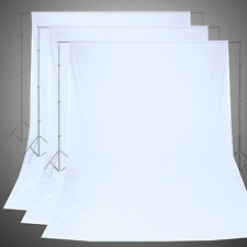 Five Size Photo Studio White Muslin Backdrop Photography 100% Cotton Background