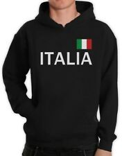 Italy Soccer Hoodie National Soccer Team Italia Flag World Cup 2014 Fan Shirt