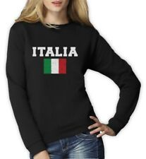 ITALIA FLAG Women Sweatshirt World Cup 2014 Distressed Italy Italian Pride Flag
