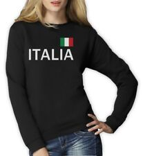 Italy Soccer Women Sweatshirt National Soccer Team Italia Flag World Cup 2014