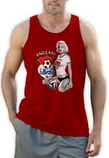Marilyn Monroe ENGLAND SOCCER Singlet Football National Team WORLD CUP 2015 Vest