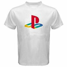 Play Station Logo T Shirt PS1 PS2 PS3 PS4 Gamer Gaming Tee Brand New