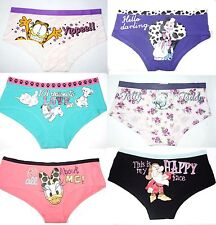 Official Licensed  Ladies Cartoon Character Novelty  briefs, underwear, Knickers