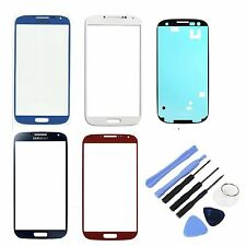 New White Black Red Blue Outer Screen Lens Glass for Samsung Galaxy S4 iV i9505