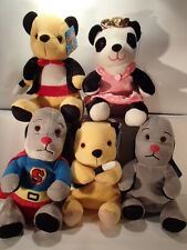 """10"""" (25CM) SOOTY, SWEEP AND SOO SOFT PLUSH TOYS - GREAT QUALITY - BNWT"""