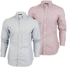 Mens Shirt By French Connection FCUK  Corndell Engineered Chambray