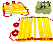 Fitness Football Coaching Training Agility Speed 4m or 8m Ladder & Carry Bag Set