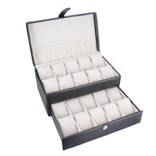 Christmas 20 Slots Watch Box Display Case Jewellery Box For Big Watches 020