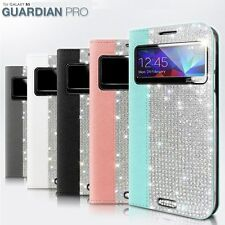 Dreamplus Guardian Pro Filp cover cases Card pocket Crystal Cubic For Galaxy S5