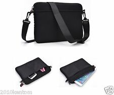 "New Smart Reliable Black Messenger Bag Case Cover For your 7"" 8"" 9"" Smart Tablet"