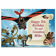 220 Personalised greeting card; How to Train Your Dragon 2; Best Special Great