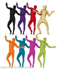 Zentai 2nd Skin Body Suit Festival Dance Club Wear Rave Stag Hen Party 13 Styles