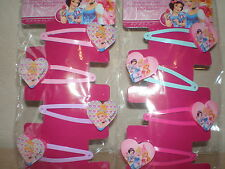 accessoires cheveux enfant licence disney / hello kitty barrettes/pinces x4 neuf
