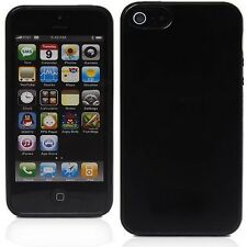 New Black Soft Silicone Case Cover Skin for Apple iPhone 5 5S